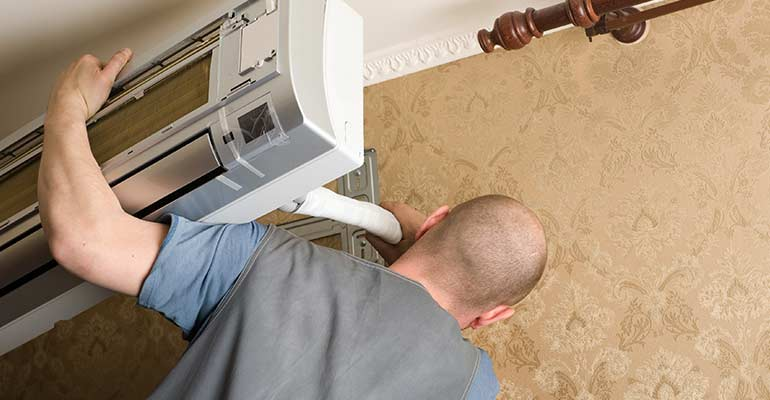 DUCTLESS SYSTEM  REPAIRS TO BE ON THE LOOKOUT FOR